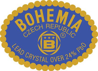 Посуда Bohemia (Чехия) богемское стекло