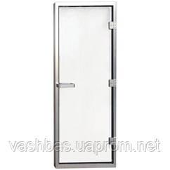 Aquaviva Двері для хамама 1890х690 (8 мм) ліва, нерж. сталь