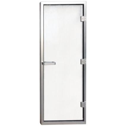 Aquaviva Дверь для хаммама 1890х690 (8 мм) левая, нерж. сталь
