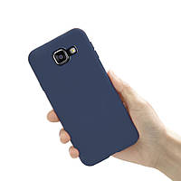 Чехол Style для Samsung A5 2016 A510 A510H бампер матовый Синий