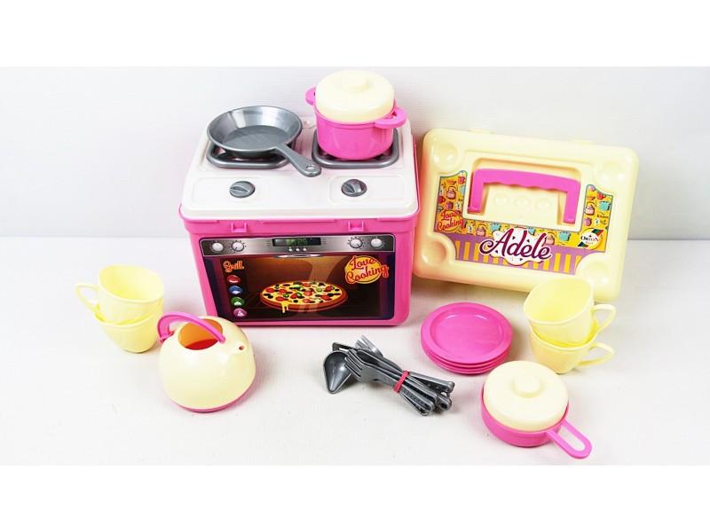 Игровая мини кухня в чемодане Орион 816OR маленькая