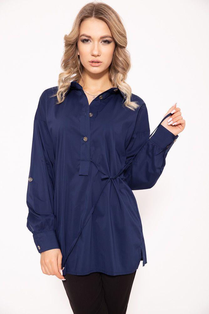 Блузка женская 115R224 цвет Темно-синий