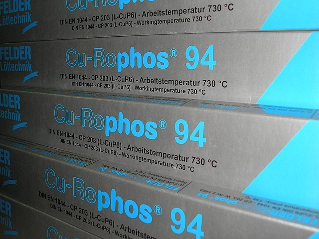 Припой Cu-Rophos 94 Felder (1 кг\пачка)