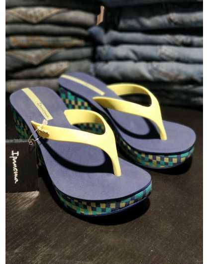 Ipanema Lipstik Thong 22045 blue/yellow