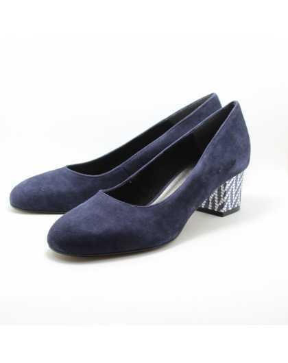 Женские туфли лодочки Tamaris 1-22305-20 805 NAVY