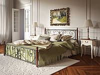Кровать Крокус Tenero на деревянных ножках 1400х2000 Черный бархат 100000225, КОД: 1555639
