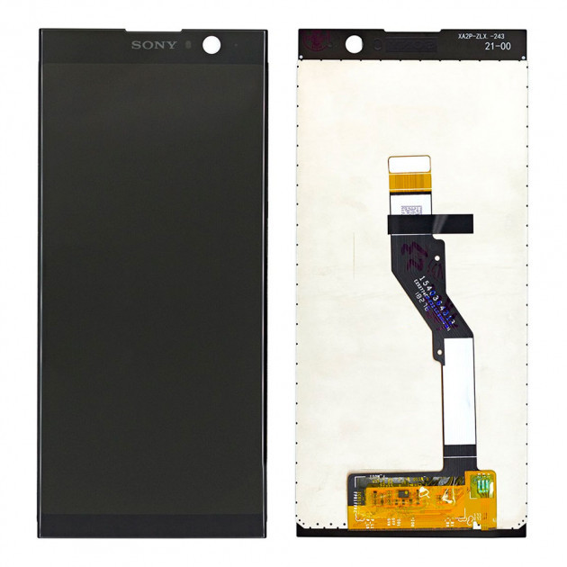 Дисплей (LCD) Sony H4413 Xperia XA2 Plus з тачскріном, чорний, оригінал (PRC)