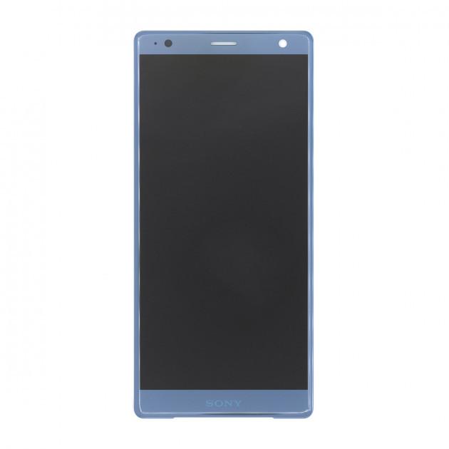 Дисплей (LCD) Sony H8266 Xperia XZ2 з тачскріном, глибокий синій, оригінал (PRC)