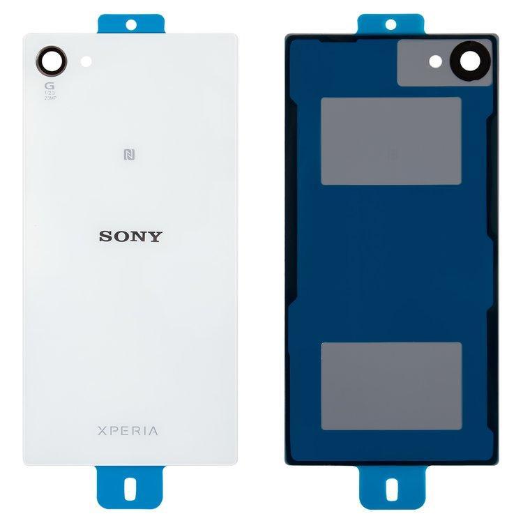 Задняя крышка Sony E5803 Xperia Z5 | E5823 Compact, белая