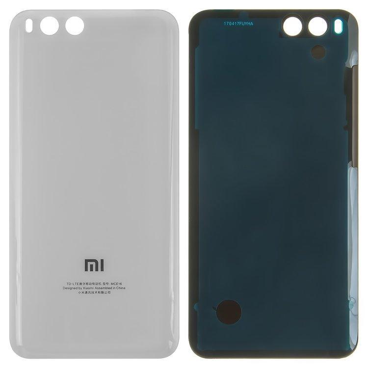 Задняя крышка Xiaomi Mi 6   Mi6, белая