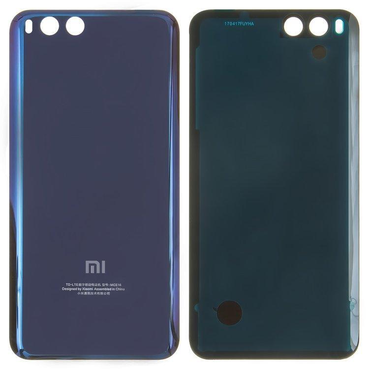 Задняя крышка Xiaomi Mi 6 | Mi6, синяя