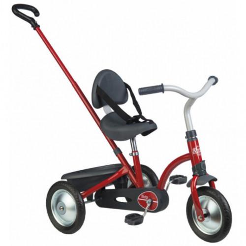 Дитячий металевий велосипед Zooky Сlassigue (3-колісний, до 50 кг), Smoby, червоний 18м+ (740800)