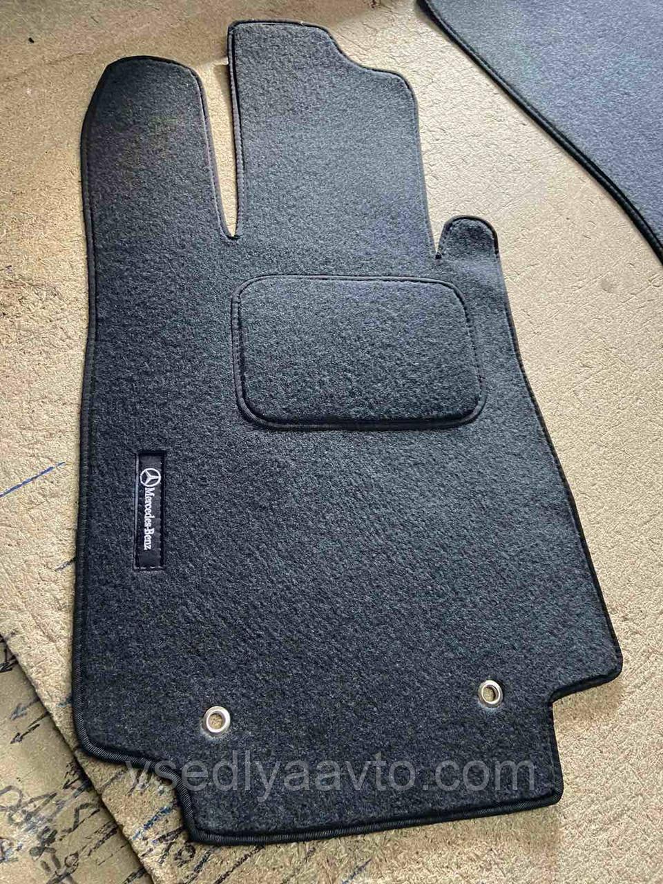 Водительский ворсовый коврик MERCEDES S-class W220 (1998-2005)