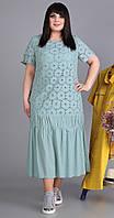 Платье Novella Sharm-3525-с белорусский трикотаж, голубой, 60
