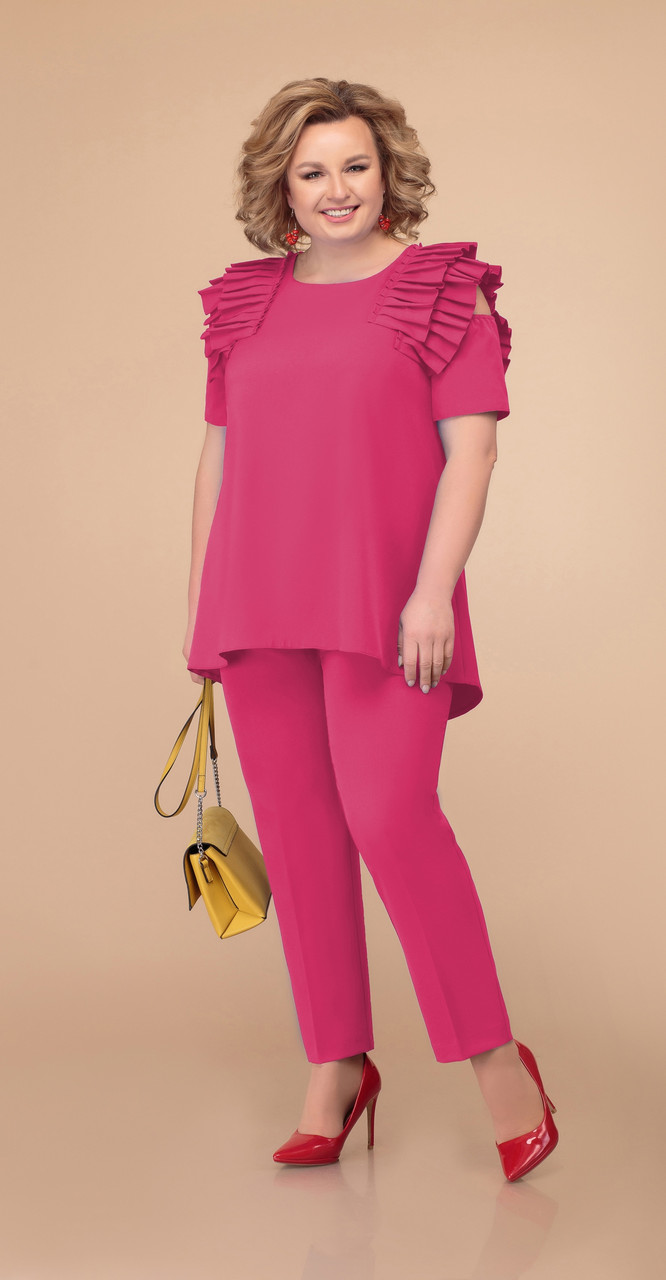 Костюм Svetlana Style-1395/2 белорусский трикотаж, розовый, 52