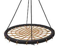 Качеля круглая подвесная Гнездо 60 см Orange