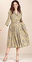 Платье TEFFI style-1425/1-9 белорусский трикотаж, зеленый, 44, фото 1