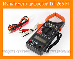 Мультиметр цифровой DT 266 FT, фото 2
