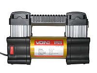 Компрессор VOIN VP-620 10Атмi/28Amp/80л/клеми/лiхтар/2 циліндра