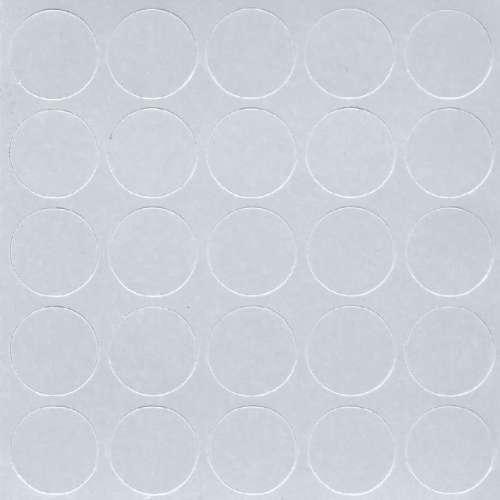 Заглушка самоклеющаяся на конфирмат Folmag 307 светло-серый