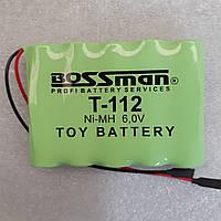 Аккумуляторы для детских машинок   Bossman T112 NiMh 6V 2000mAh