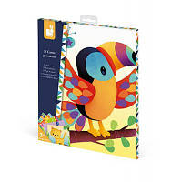 Набор для творчества Janod Картинки с наклейками Животные (J07788)