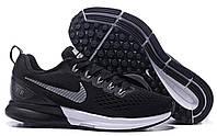 Мужские кроссовки Nike Zoom Pegasus 34 Black/White Реплика