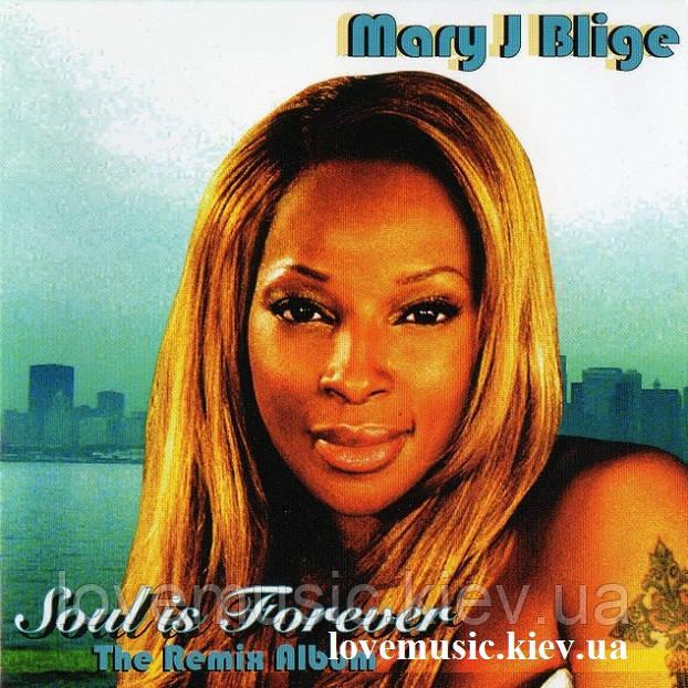 Музичний сд диск MARY J BLIGE Souls is forever (2008) (audio cd)