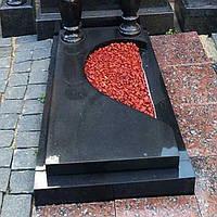Плитка надгробна гранітна