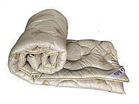 Одеяло двуспальное LaBella 170x210см.  Тёплое одеяло, наполнитель овечья люкс-шерсть  Ковдра шерстяна