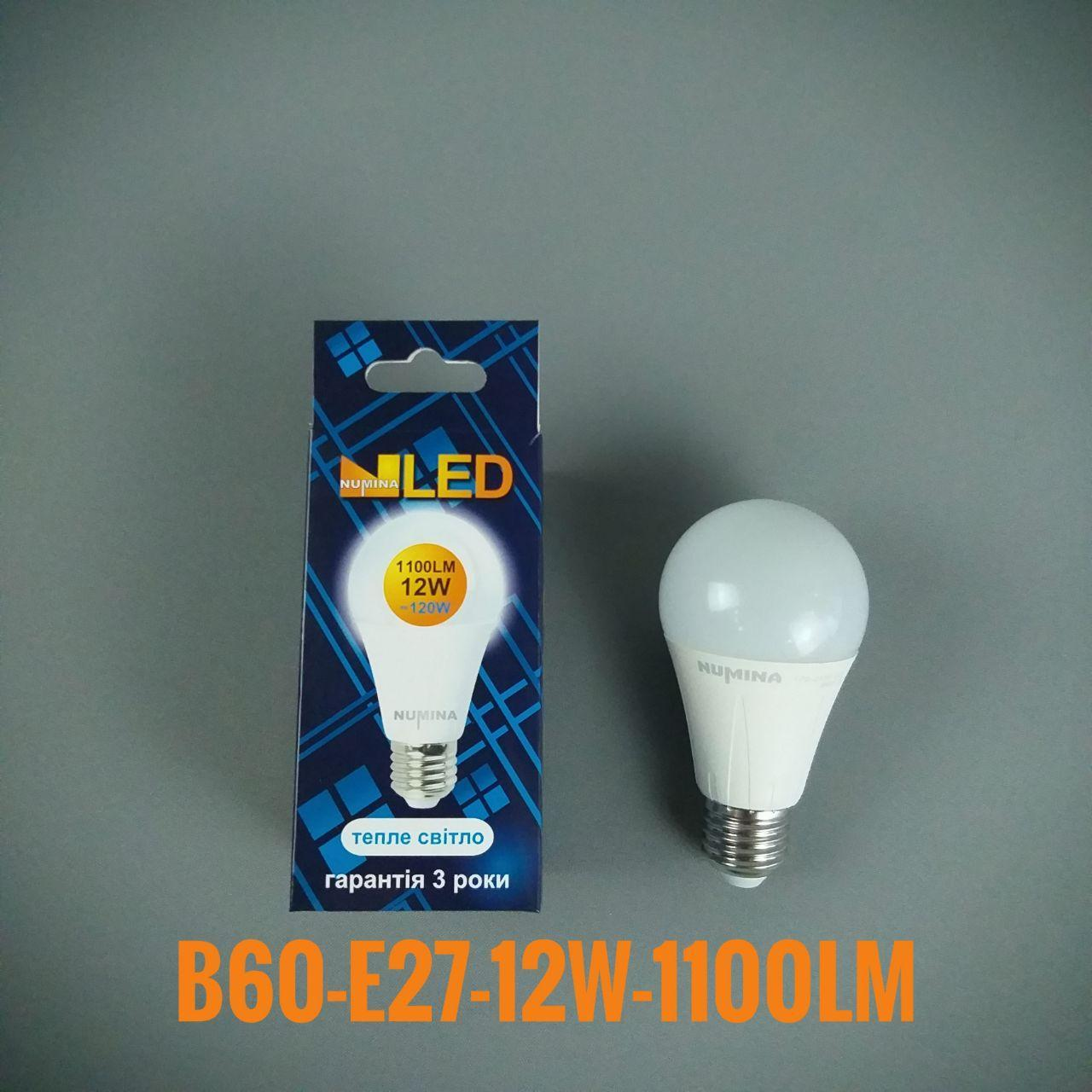 Светодиодная лампочка LAMP PREMIUM B60AP 12W E27 3000K 270
