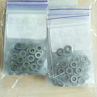 Регулировочные шайбы форсунок МТЗ 7,3x3,5 мм комплект 105 шт
