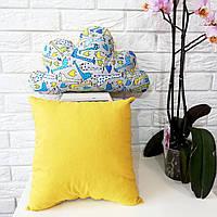 Комплект из квадратной подушки и подушки-облака KatyPuf