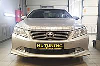 Toyota Camry XV50 - замена линз на светодиодные Bi-LED