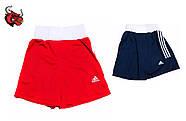 Боксерская форма Адидас (Adidas) Комплект из 2 форм! С гербом Украины (UKR) красная и синяя, фото 4