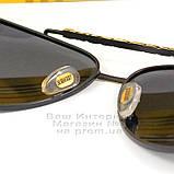 Мужские солнцезащитные очки Burberry 2020 Авиаторы с поляризацией для водителей Поляризационные Барбери копия, фото 4