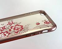 Чехол для iPhone 6 Plus, 6s Plus накладка Air Series противоударный силиконовый с принтом