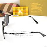 Модные 2020 Женские солнцезащитные очки Burberry Авиаторы Брендовые Барбери Стильные реплика, фото 3