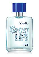 Туалетная вода для мужчин Sportlife Ice Faberlic 50 мл, фото 1