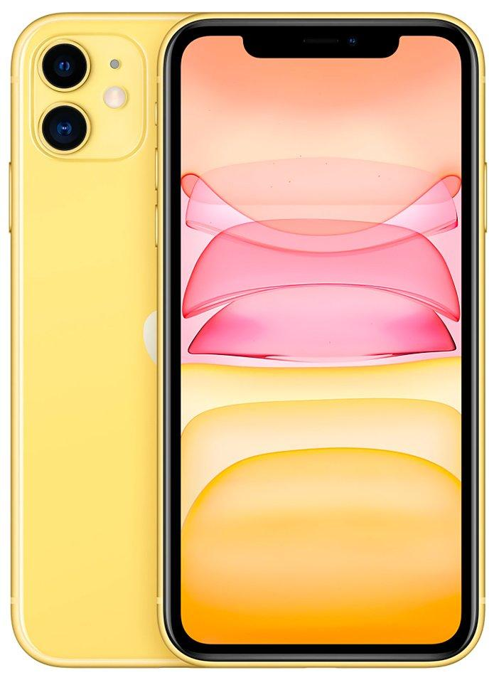 Смартфон Apple iPhone 11 64GB Dual Sim Yellow (MWN32)Apple iPhone 11 6