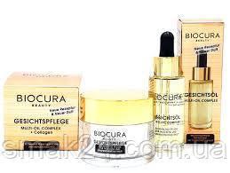 Мультикомплекс для ухода за кожей лица, шеи и декольте Biocura beauty Gesichtspflege Германия