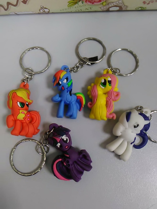 Брелок пони my little pony 1 шт