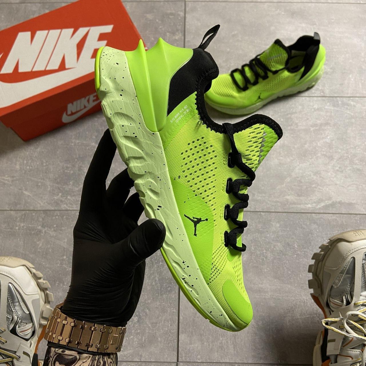 Кроссовки мужские Nike Jordan React Havoc VOLT. Стильные мужские кроссовки.