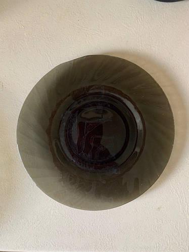 Тарелка  стеклянная десертная 19 см