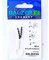 """Стопор скользящий силиконовый  """"Balzer""""-0,35 черный"""