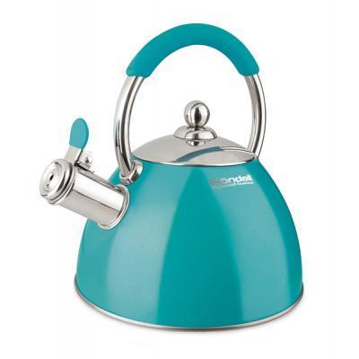 Чайник Rondell Turquoise со свистком 2 л (RDS-939)