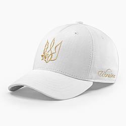 Женская кепка бейсболка INAL с гербом Украины M / 55-56 RU Белый 39855