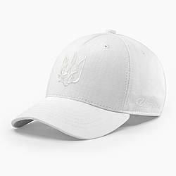 Женская кепка бейсболка INAL с гербом Украины M / 55-56 RU Белый 40755