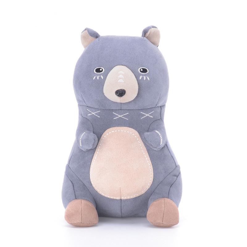 Мягкая игрушка Серый мишка, 22 см