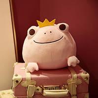 Мягкая игрушка Розовая лягушка, 42см